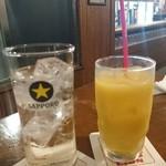 札幌開拓使 - ポールスターとオレンジジュース