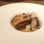 イタリアン アンド ワイン チャコール - 小鯛とハマグリのアクアパッツァ