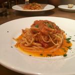 イタリアン アンド ワイン チャコール - 甘鯛のリングイネ トマトソース