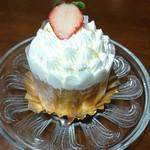 72309397 - レアチーズケーキ(324円)