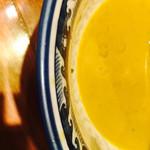 佐市 - スープの色。まさに牡蠣ダシ