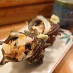 魚八寿し - おまかせ寿し(並) 3300円(税別)