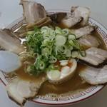 ラーメン麺雅 - ガチ煮干チャーシュー