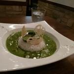 美味これくしょん神田倶楽部 - 意識高い系、盛り付けが3次元。