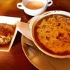 カレーバー・ガク - 料理写真:焼きカレー+ハンバーグセット