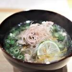 まる富 - 和牛沢煮