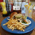 サウスカフェ - ハンバーガー 1050円