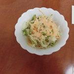 パミールマート - セットのサラダ