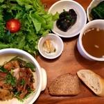 カフェアンドダイニング パコ - ポン酢テリヤキチキン+野菜増し