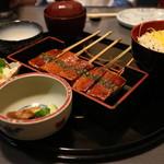 河良 - 料理写真:菜飯田楽膳