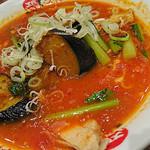 太陽のトマト麺Next - 太陽の茄子ラーメン(880円)