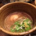 つけ麺 えん寺 - ベジポタ味玉入りつけ麺