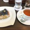 琵琶湖マリオットホテル ラウンジ - 料理写真:ケーキセット 1200円プラスサービス料、消費税