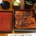 松乃家 - うな重特上、3900円(^_^;)