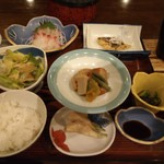 ホテルパークウエイ - 料理写真:夕食膳