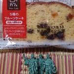 フルーツ三嶋屋Yショップ - 料理写真:5種のフルーツケーキ129円