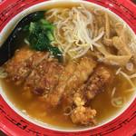 万世麺店 - 排骨(パーコー)拉麺(850円)