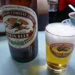 清ちゃん - ドリンク写真:ビールはキリンの瓶ビール