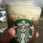 スターバックスコーヒー - ドリンク写真:コールドブリュークリームフロートバレンシア