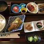 いっしょう - 色とりどりの和食膳です