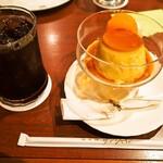 サンシャイン - アイスコーヒー & 自家製プリン