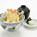 天ぷら新宿つな八 - ランチ海老天丼