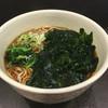秩父そば - 料理写真:わかめそば(¥360)