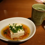 焼助 - 2017.09 お通しとスープ(380円)