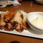 焼助 - 2017.09 森林鶏の味噌焼き(890円)