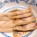 レストラン ぎんが - 蒸し鶏山椒風味