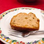 レストラン ぎんが - りんごのパウンドケーキ
