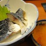 大名鮨 - 料理写真:しめさば