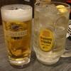 串焼亭 ねぎ - ドリンク写真:まずは乾杯。