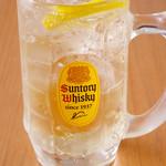 フレッシュ!果実の角ハイボール <生搾りレモン/生搾りグレフル/生搾りキウイ>