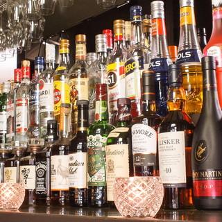 海外のお酒も楽しめます!