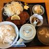 和食 やながわ - 料理写真:ロースカツ定食