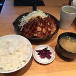 東京トンテキ - 大トンテキ定食1,250円