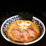 九段 斑鳩 - 特製濃厚ラー麺(980円)