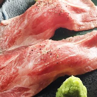 肉の旨みが口いっぱいに広がる★肉寿司★