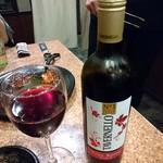 炭火焼肉 矢つぐ - 赤ワイン(グラス)