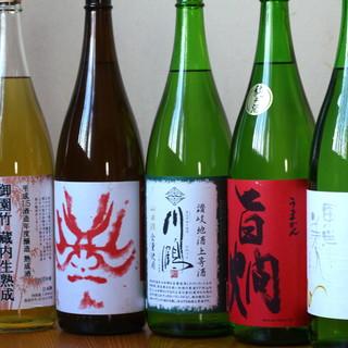【種類豊富なお酒】日本酒をグラスで飲む、粋な楽しみ方。
