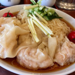 南粤美食 - 冷やし雲呑麺