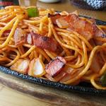 喫茶パンの木 - 昔ながらのスパゲッティー ナポリタン