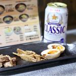 サッポロラーメン エゾ麺ロック - おつまみセット