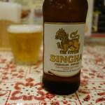 タイかぶれ食堂 - タイビール「シンハー」