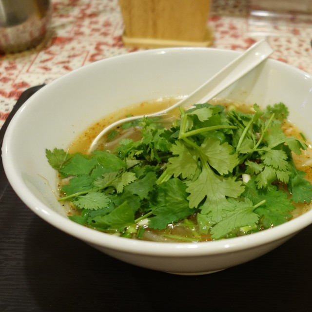タイかぶれ食堂 - 「タイかぶれパクチー麺」