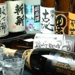 松山個室居酒屋 月の都 - 日本酒・焼酎も充実の品揃え♪