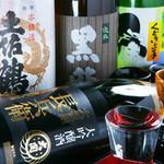 松山個室居酒屋 月の都 - 各地から集めた厳選のお酒の数々…