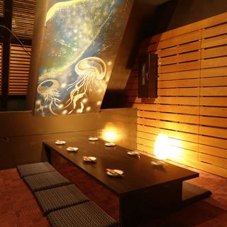 ◆6つのモチーフ:夜景個室・座敷個室・完全個室◆2~60名
