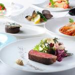 ラ・ソラシド フードリレーションレストラン - 料理写真:ディナーコース例